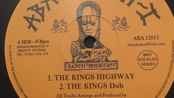The Kings Highway / I Fear No Evil - The Shanti-Ites