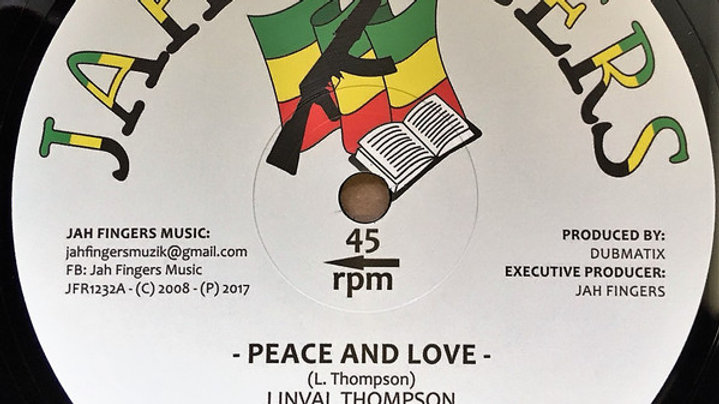 Linval Thompson,Horace Andy–Peace And Love / It's A Clash
