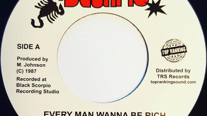 Every Man Wanna Be Rich – Johnny Clarke
