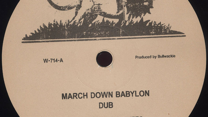 The Chosen Brothers ‎– March Down Babylon