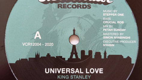 King Stanley ‎– Universal Love / Jah Never Let Me Down