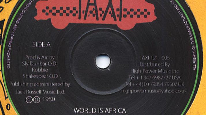World Is Africa – Black Uhuru
