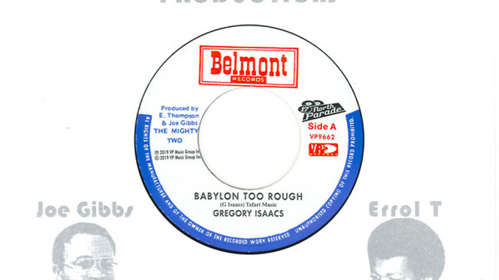 Gregory Isaacs ‎– Babylon Too Rough