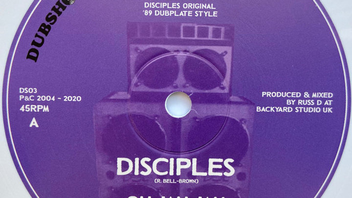 The Disciples–Oh Jah Jah / Jah Militia Dub