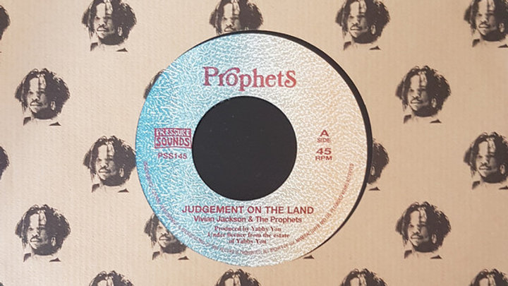 Vivian Jackson & The Prophets ‎– Judgement On The Land