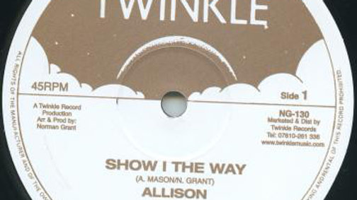 Allison  ‎– Show I The Way / Sorrow