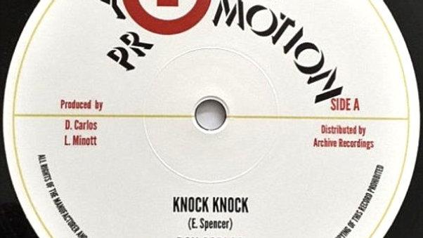 Don Carlos /Sugar Minott–Knock Knock / Row Fast