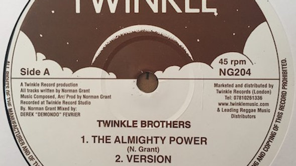 Twinkle Brothers - Almighty Power / Babylon Falling down