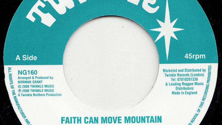 Twinkle Brothers ‎– Faith Can Move Mountain