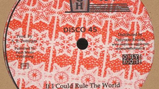 Alton Ellis–If I Could Rule The World / Lava