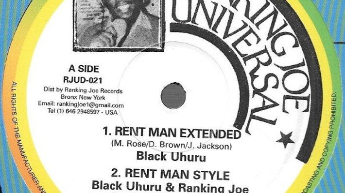 Black Uhuru–Rent Man
