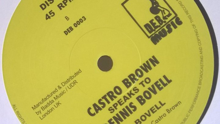 15 16 17/Dennis Bovell–Emotion / Castro Brown Speaks To Dennis Bovell