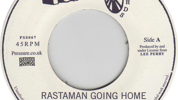 Time Unlimited / The Upsetters ‎– Rastaman Going Home