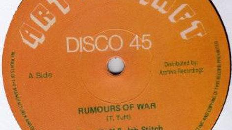 Tony Tuff&Jah Stitch–Rumours Of War
