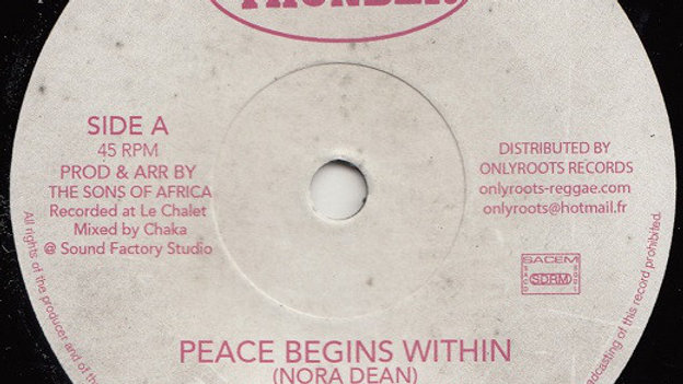 Nadia Harris Mcanuff & The Sons Of Africa ‎– Peace Begins Within