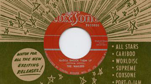 Peter Tosh & The Wailers / Soul Bros. ‎– Rasta Shock Them Up / Ringo's Ska