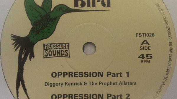 Diggory Kenrick–Oppression