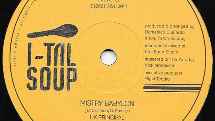 Mistry Babylon / RasTafari Army - UK Principal/Barry Issac
