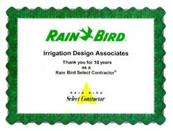 Rainbird Select