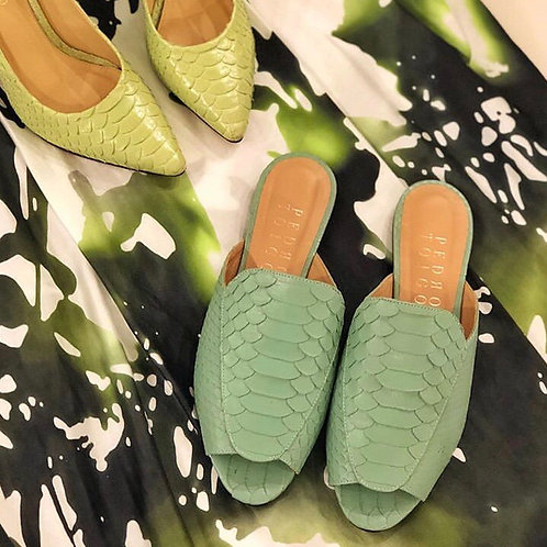 Mule Python verde