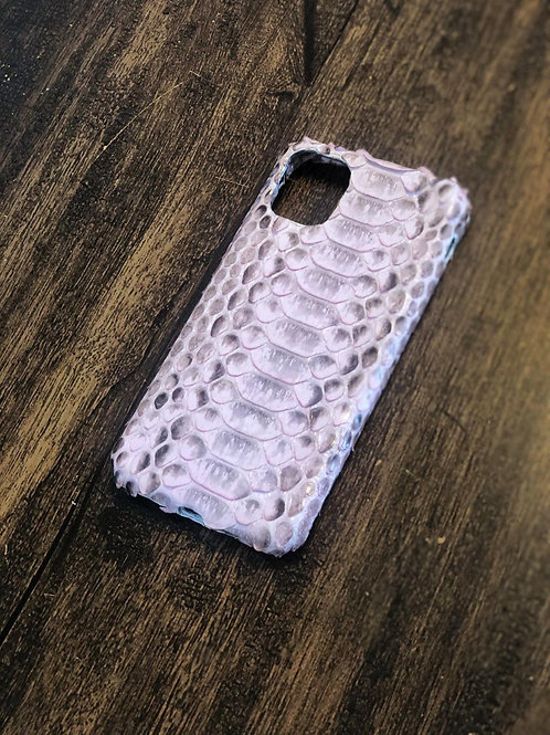 Capa Iphone Pró Python Pale Lilac