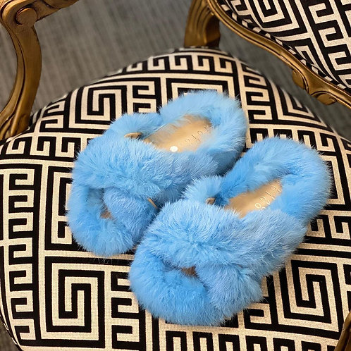 Pantufa Azul