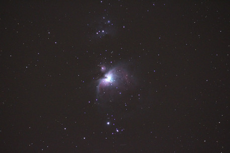 M42 The great orion nebula is a diffuse nebula 1,344 light years from earth