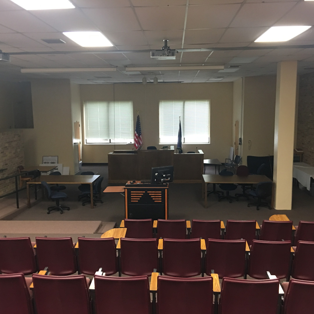 "ULM not only has great physical sports, but the competing at the academic level is also very successful at ULM.  Pictured is the ""Mock Trial"" room, which is where ULM's mock trial team debates and practices. . For the fourth consecutive year, the University of Louisiana Monroe Mock Trial Team has advanced to the opening round of the AMTA National Championships. ULM is the only school from Louisiana to advance each of the last four years."