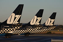 BOEING 737-200 OZJET PERTH 31 JULY 2009