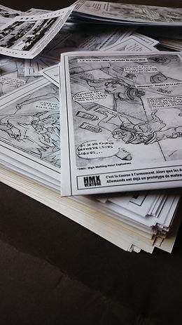HMX Venture bande dessinée maintenant en ligne gratuitement comic book latana félicité durraive