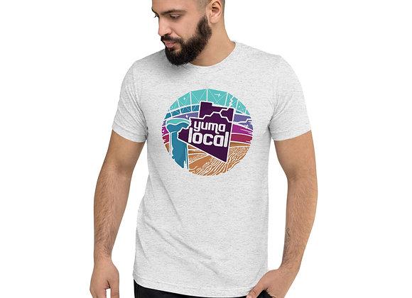 Yuma Local Purple on Light T Shirt