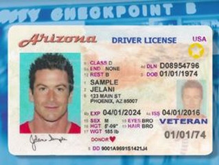 Arizona Residents : Travel ID Information