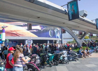 Strollers at The Disneyland Resort