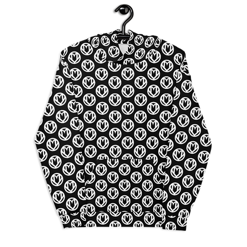 MANIFFEST All-Over Logo Hoodie