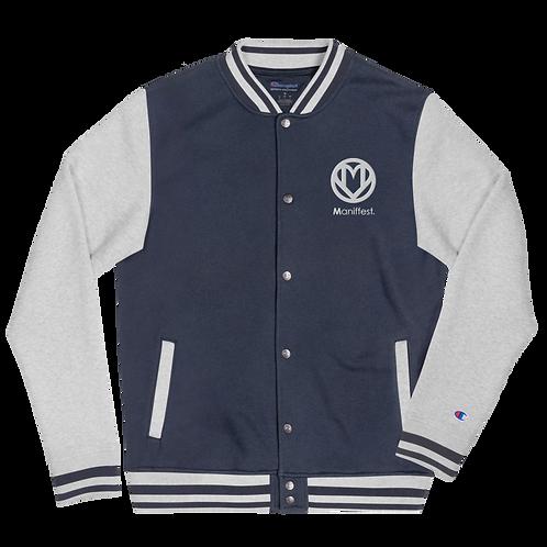 MANIFFEST Logo Bomber Jacket