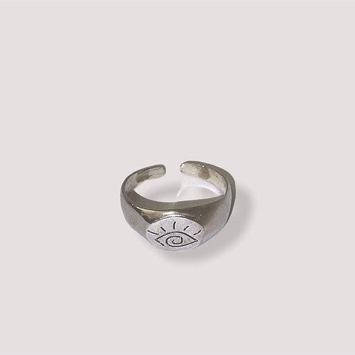 Eye Silver Ring
