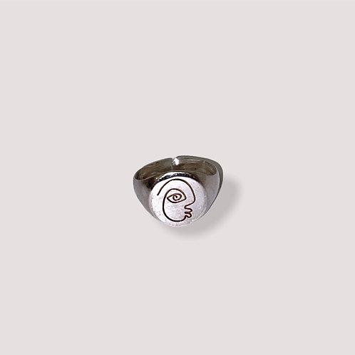 Punu Silver Ring