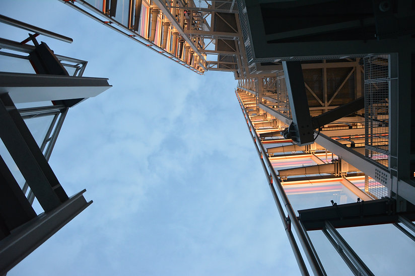 high-rise-building-low-angle-photography