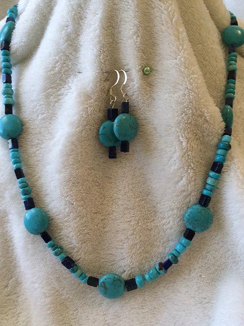 Turquoise & Lapis Set