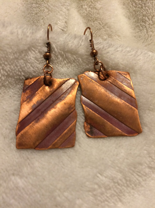 Copper Rectangles with Stripes