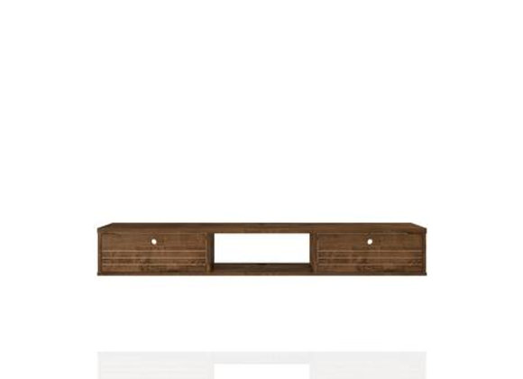 Liberty 62.99 Floating Entertainment in Rustic Brown