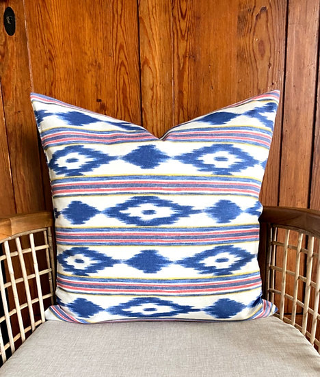 Kissenbezug im typisch mallorquinischen Muster - 60 x 60 cm