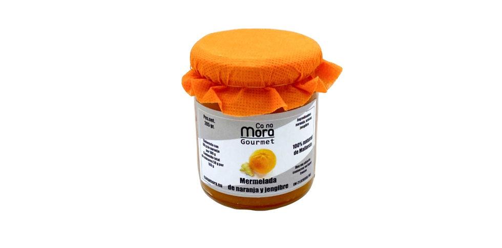 Ca na Mora – Mermelada de naranja y jengibre, Orangen-Ingwer Marmelade