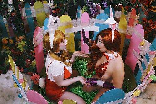 Jessica Rabbit X Rodger Rabbit