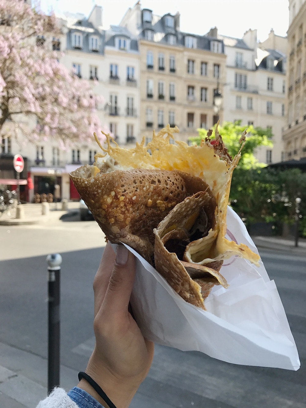 Crepes for lunch