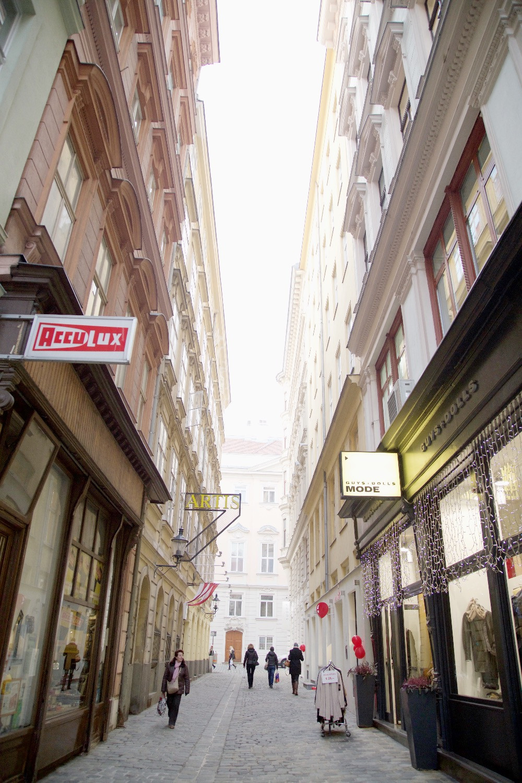 Retail stores in vienna