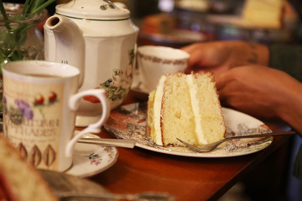 Candella lemon cake