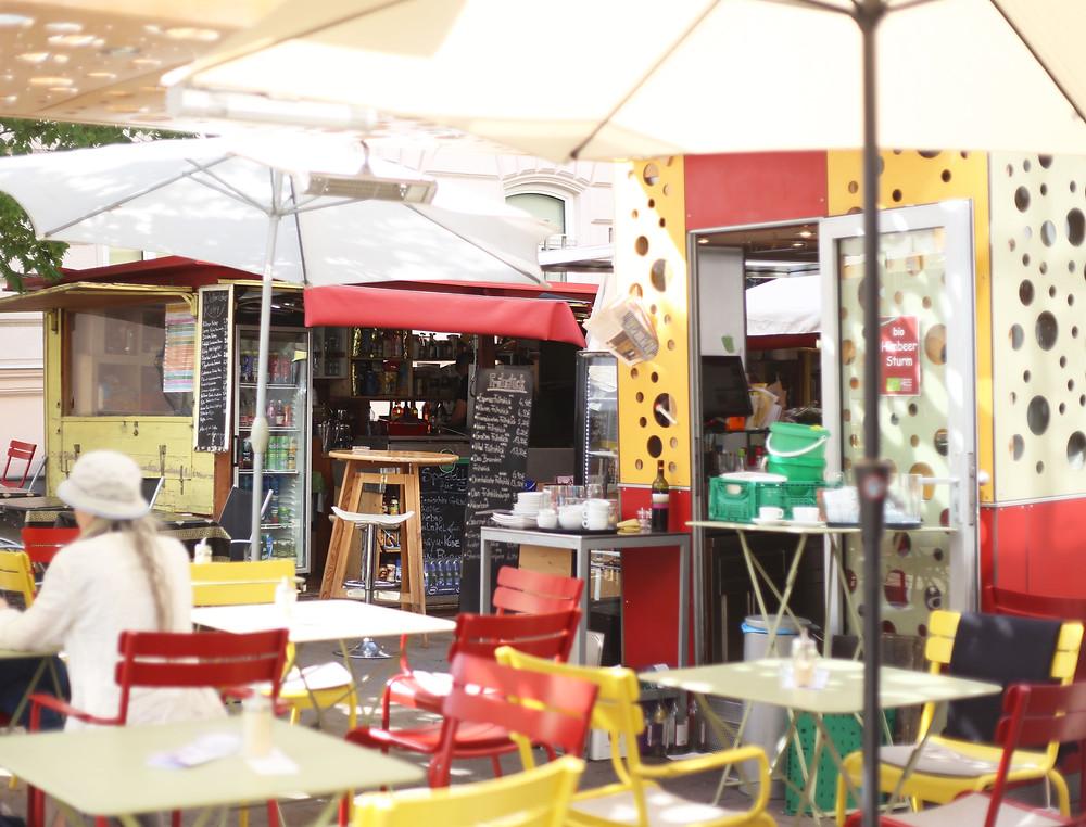 Kebab stand
