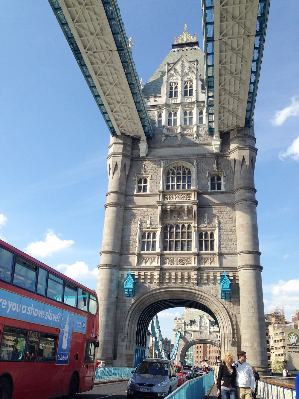 London Bridge- Double decker bus