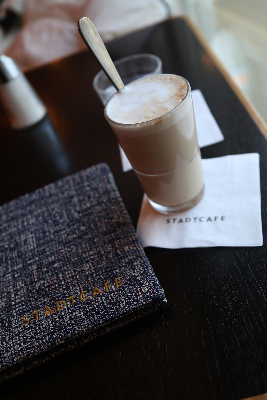 Stadtcafe's Chai latte